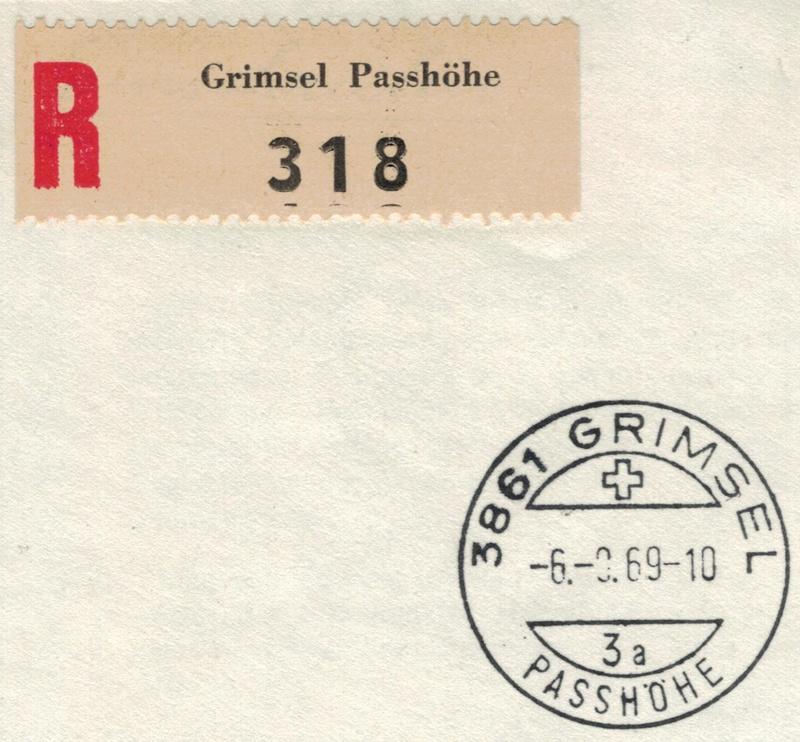 "Grimsel Passhöhe BE - ""Berghotel"" Grimse10"