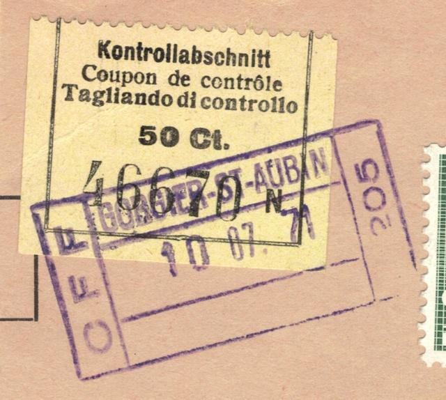 Kontrollabschnitt 50 Rp. SBB Kontro12