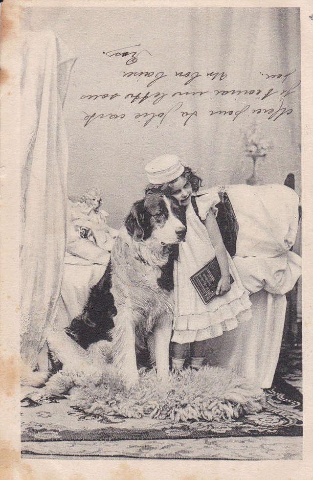 Motiv-Kinder und Hunde 22a10