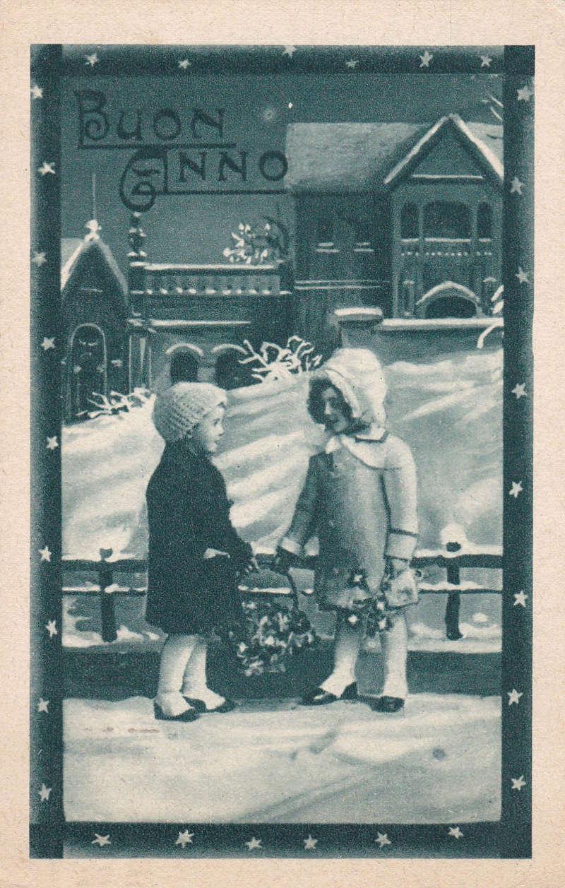 Motiv-Kinder-Neujahrs-Grüsse 23a10