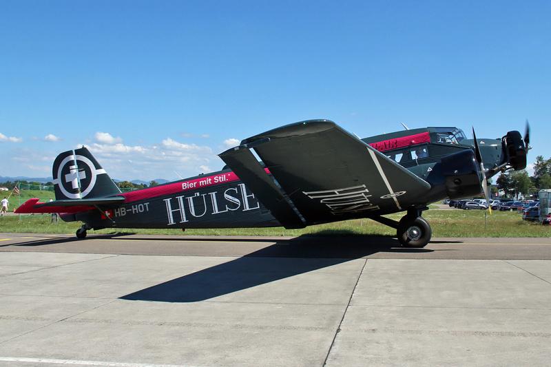 JU-52, HB-HOT Anstur10