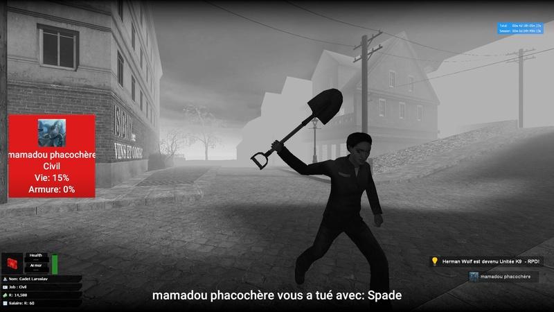 [Plainte Traité] Plainte contre un joueur Resident Evil RP 20181110
