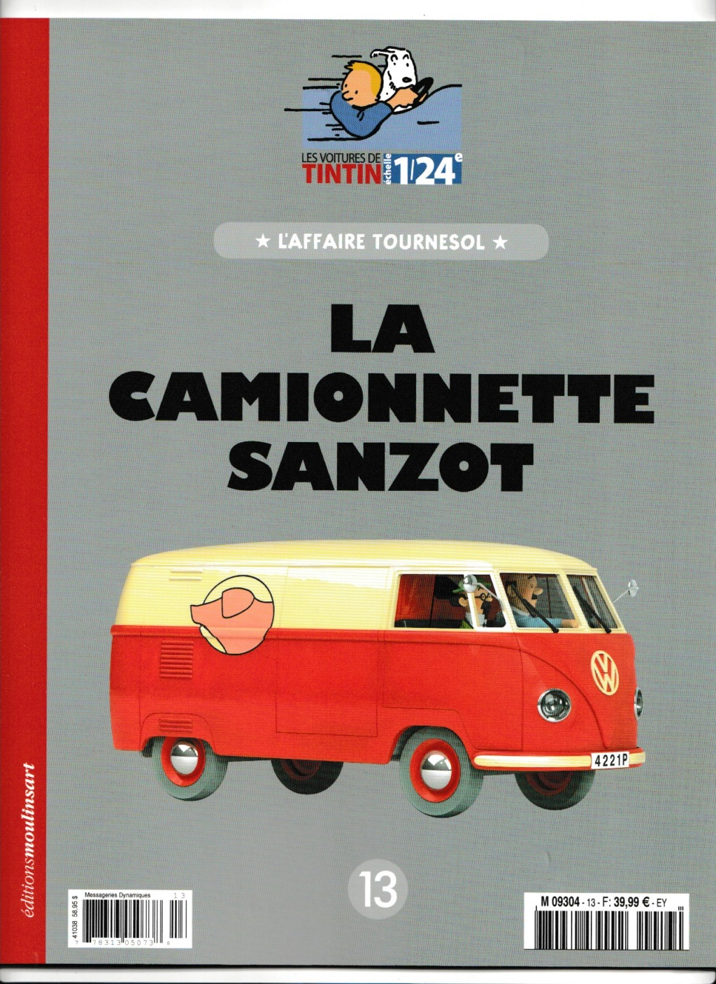 La collection Tintin au 1/24 . - Page 7 Numzo258