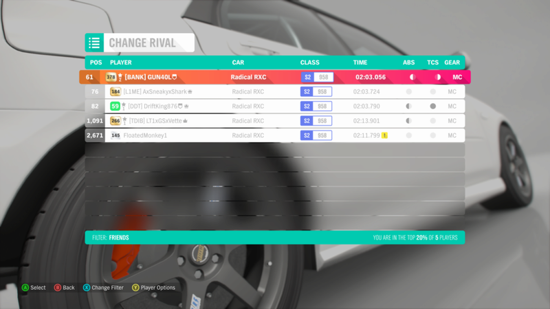 FH4 Time Attack | Road Racing Rivals - Greendale Super Sprint Img_6a10