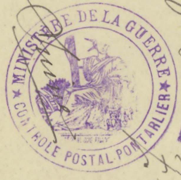 Französische Zensur während des 1.Weltkriegs 97_x_211