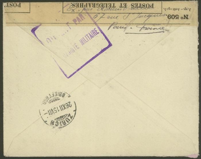Französische Zensur während des 1.Weltkriegs 97_x_213