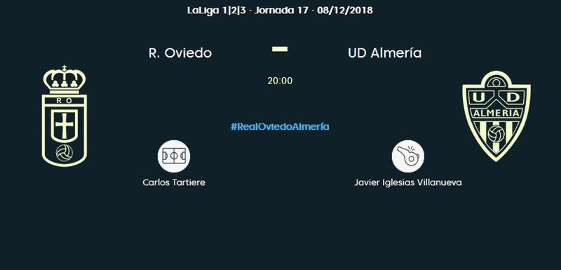 J.17 LIGA 123 TEMPORADA 2018/2019 R.OVIEDO-UD ALMERIA (POST OFICIAL) 0321