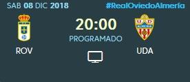 J.17 LIGA 123 TEMPORADA 2018/2019 R.OVIEDO-UD ALMERIA (POST OFICIAL) 0421