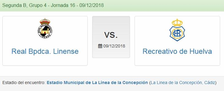 J.16 2ªB G.4º 2018/2019 RB LINENSE-RECRE (POST OFICIAL) 1016