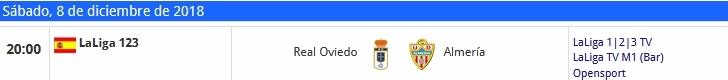 J.17 LIGA 123 TEMPORADA 2018/2019 R.OVIEDO-UD ALMERIA (POST OFICIAL) 1117