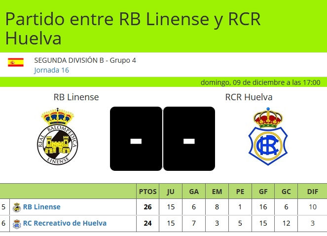 J.16 2ªB G.4º 2018/2019 RB LINENSE-RECRE (POST OFICIAL) 3112