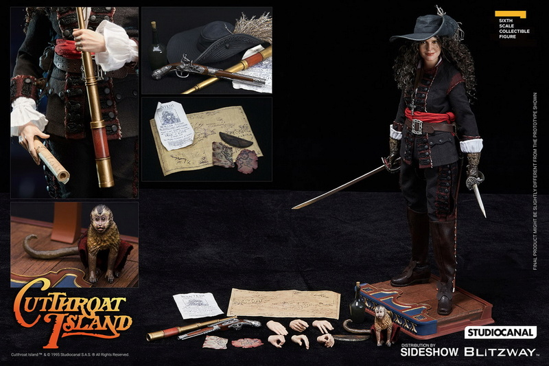 "CutthroatIsland - NEW PRODUCT: Blitzway New: 1/6 ""Cutthroat Island"" - Morgan Adams / Morgan Adams 09132410"