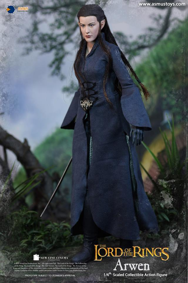 Asmus - NEW PRODUCT: ASMUS: 1/6 SCALE THE LORD OF THE RINGS SERIES: ARWEN 1010