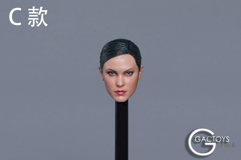 NEW PRODUCT: GACTOYS new product: 1 / 6 European and American cold female killing hand carving [GC022 -A, B, C, D.4] 1011