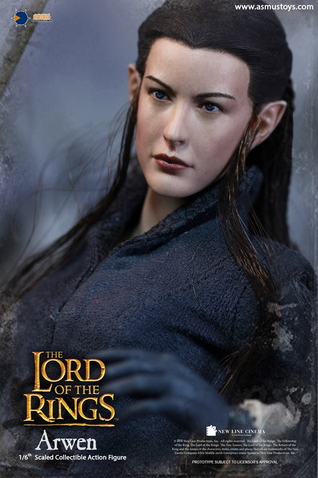 NEW PRODUCT: ASMUS: 1/6 SCALE THE LORD OF THE RINGS SERIES: ARWEN 110