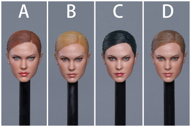 NEW PRODUCT: GACTOYS new product: 1 / 6 European and American cold female killing hand carving [GC022 -A, B, C, D.4] 111