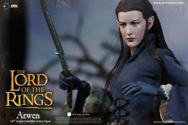 NEW PRODUCT: ASMUS: 1/6 SCALE THE LORD OF THE RINGS SERIES: ARWEN 1110