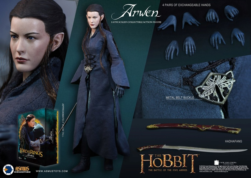 NEW PRODUCT: ASMUS: 1/6 SCALE THE LORD OF THE RINGS SERIES: ARWEN 1210