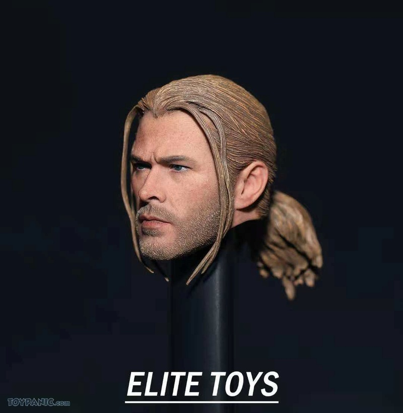 NEW PRODUCT: 1/6 Thor Headsculpt (Braid Hairstyle)  From Elite Toys  Code: ET2911201801 12120111