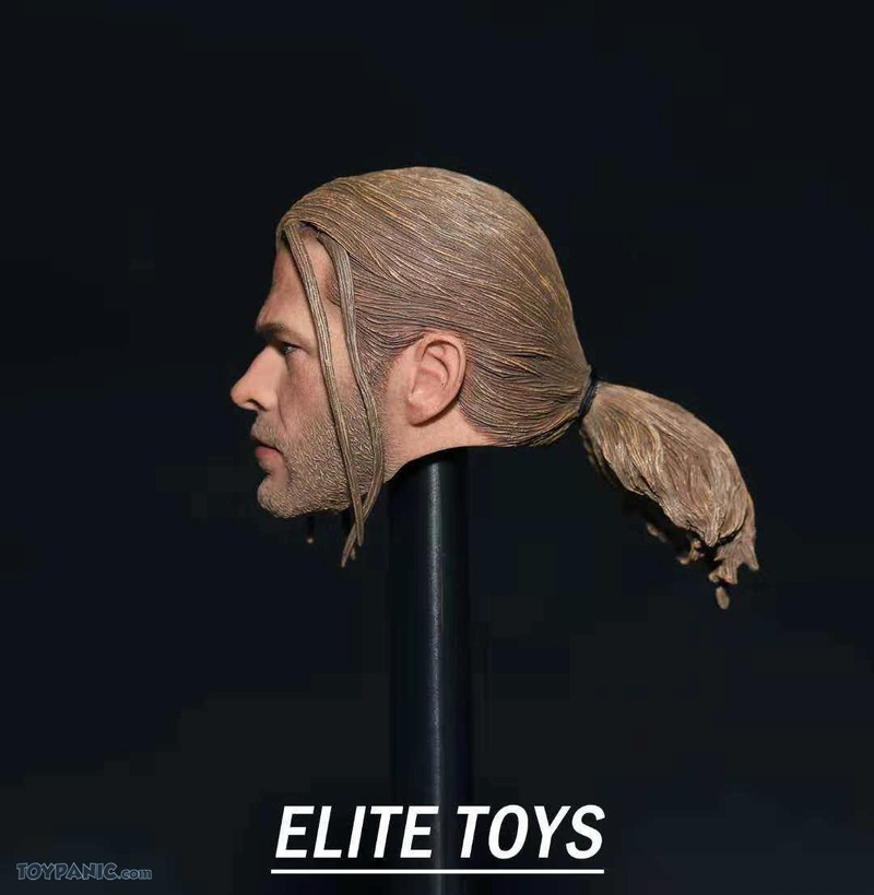 NEW PRODUCT: 1/6 Thor Headsculpt (Braid Hairstyle)  From Elite Toys  Code: ET2911201801 12120112