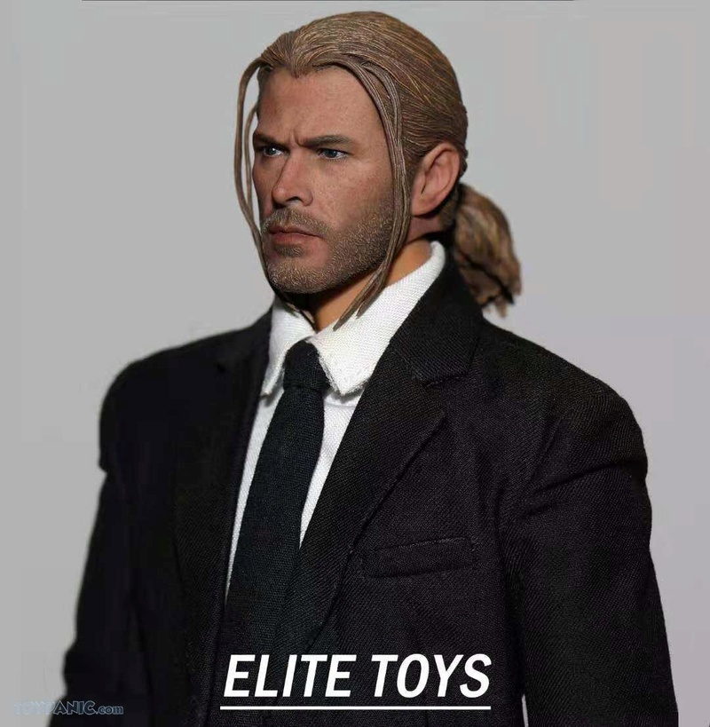 NEW PRODUCT: 1/6 Thor Headsculpt (Braid Hairstyle)  From Elite Toys  Code: ET2911201801 12120114