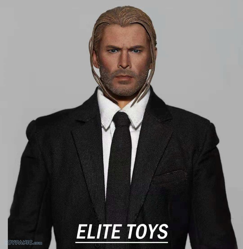 NEW PRODUCT: 1/6 Thor Headsculpt (Braid Hairstyle)  From Elite Toys  Code: ET2911201801 12120116