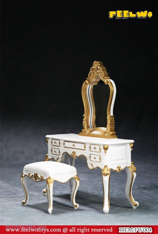 NEW PRODUCT: 1/6 Dressing-Table Set (Black)  From FEELWOTOYS  Code: FW004A,B,C,D (4 colors) 12120135