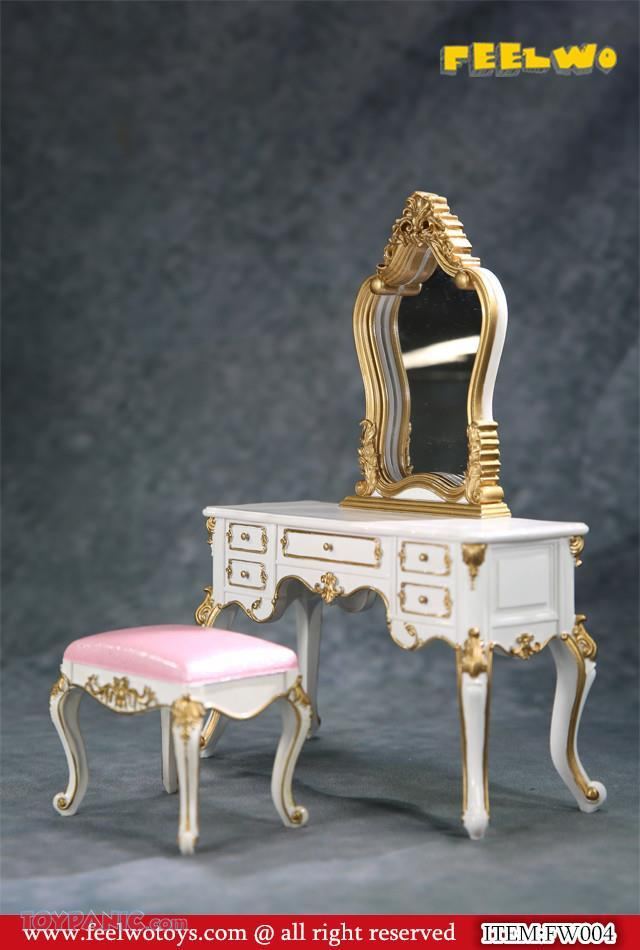 NEW PRODUCT: 1/6 Dressing-Table Set (Black)  From FEELWOTOYS  Code: FW004A,B,C,D (4 colors) 12120144