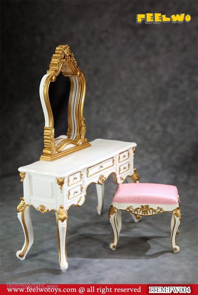 NEW PRODUCT: 1/6 Dressing-Table Set (Black)  From FEELWOTOYS  Code: FW004A,B,C,D (4 colors) 12120145