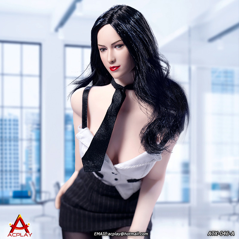NEW PRODUCT: ACPLAY New: 1/6 ATX046 sexy female secretary costume set - a total of three colors 1311