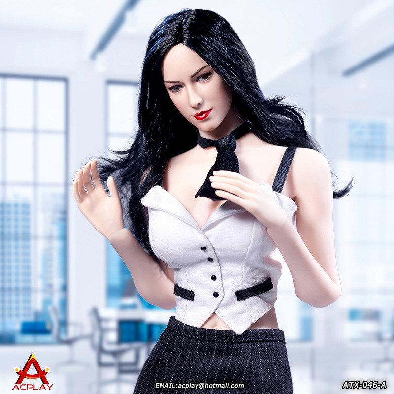 NEW PRODUCT: ACPLAY New: 1/6 ATX046 sexy female secretary costume set - a total of three colors 1611