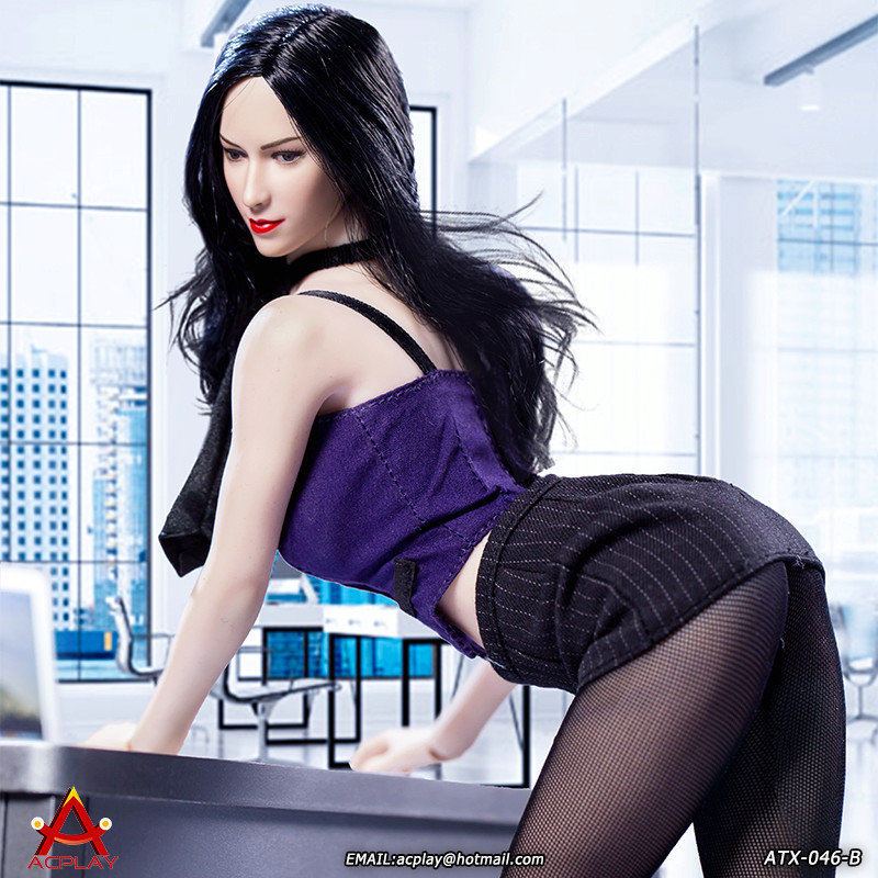 NEW PRODUCT: ACPLAY New: 1/6 ATX046 sexy female secretary costume set - a total of three colors 1711