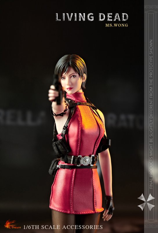 NEW PRODUCT: HOT HEART New: 1/6 Zombie Killer Mysterious Female Spy Ms. Wong (FD006) 18153510