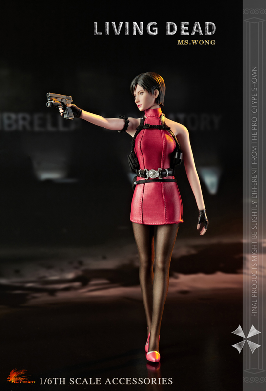NEW PRODUCT: HOT HEART New: 1/6 Zombie Killer Mysterious Female Spy Ms. Wong (FD006) 18154110