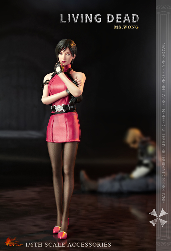 NEW PRODUCT: HOT HEART New: 1/6 Zombie Killer Mysterious Female Spy Ms. Wong (FD006) 18154610