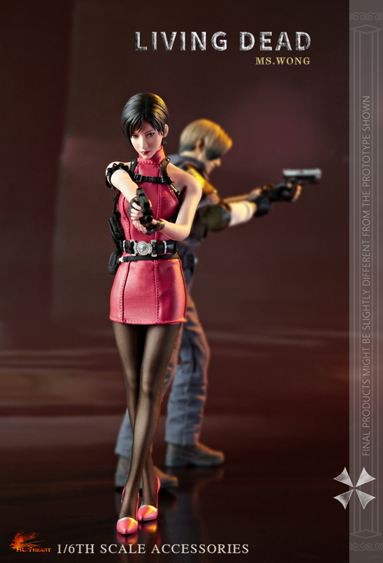 NEW PRODUCT: HOT HEART New: 1/6 Zombie Killer Mysterious Female Spy Ms. Wong (FD006) 18155010