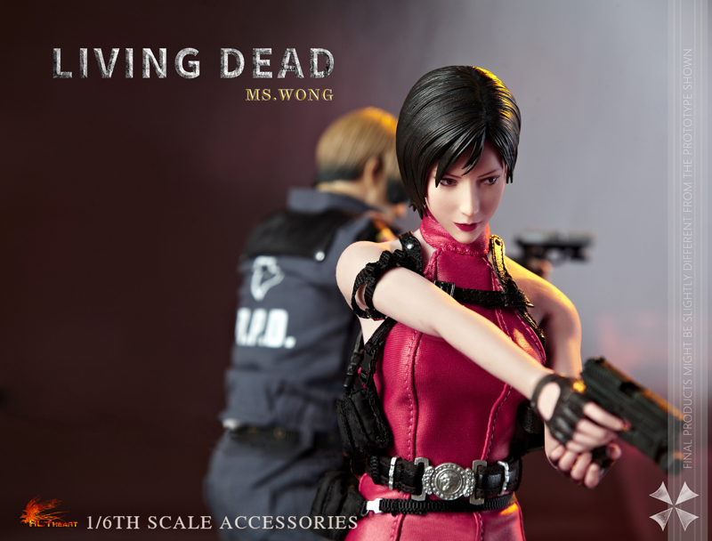 NEW PRODUCT: HOT HEART New: 1/6 Zombie Killer Mysterious Female Spy Ms. Wong (FD006) 18155910