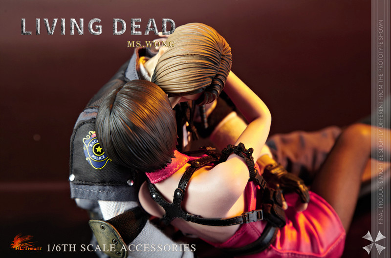 NEW PRODUCT: HOT HEART New: 1/6 Zombie Killer Mysterious Female Spy Ms. Wong (FD006) 18161710