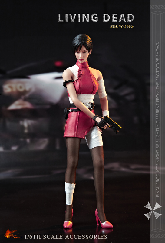 NEW PRODUCT: HOT HEART New: 1/6 Zombie Killer Mysterious Female Spy Ms. Wong (FD006) 18162910