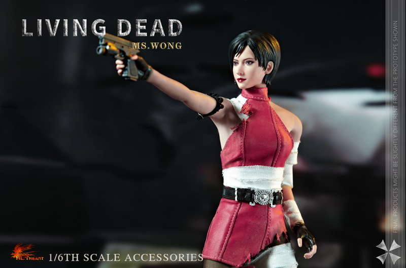 NEW PRODUCT: HOT HEART New: 1/6 Zombie Killer Mysterious Female Spy Ms. Wong (FD006) 18164810
