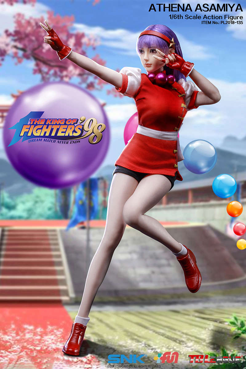 "NEW PRODUCT: TBLeague New: 1/6 ""King of Fighters KOF 98"" - Athena Asamiya / Ma Gong Athena (#PL2018-135) 20210910"