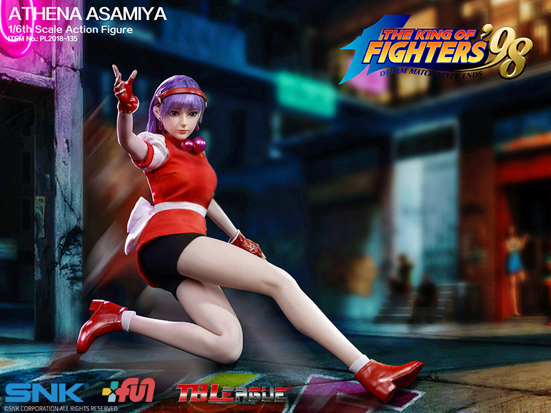 "NEW PRODUCT: TBLeague New: 1/6 ""King of Fighters KOF 98"" - Athena Asamiya / Ma Gong Athena (#PL2018-135) 20211210"