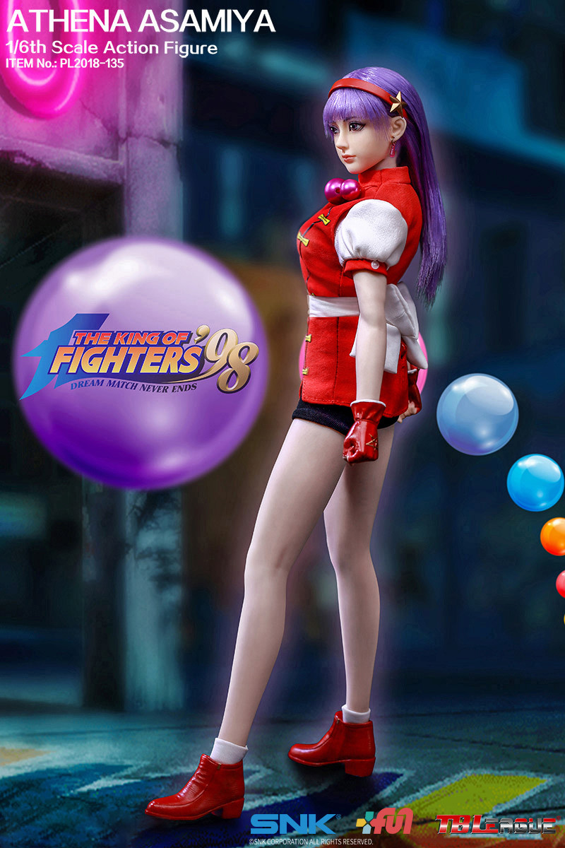 "NEW PRODUCT: TBLeague New: 1/6 ""King of Fighters KOF 98"" - Athena Asamiya / Ma Gong Athena (#PL2018-135) 20211710"