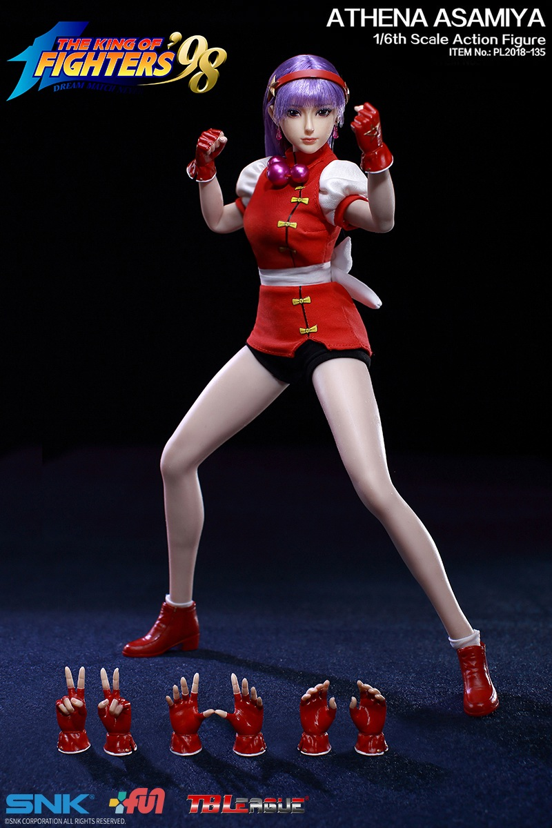 "NEW PRODUCT: TBLeague New: 1/6 ""King of Fighters KOF 98"" - Athena Asamiya / Ma Gong Athena (#PL2018-135) 20215510"
