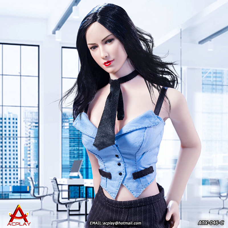 NEW PRODUCT: ACPLAY New: 1/6 ATX046 sexy female secretary costume set - a total of three colors 2111