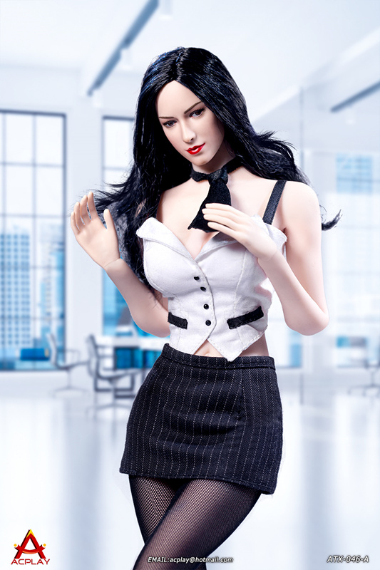 NEW PRODUCT: ACPLAY New: 1/6 ATX046 sexy female secretary costume set - a total of three colors 213