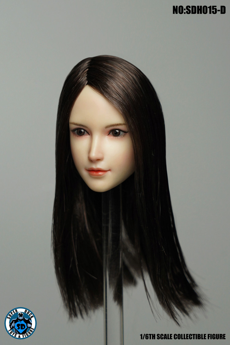 superduck - NEW PRODUCT: SUPER DUCK: 1/6 SDH014 female head carving - ABC three models & SDH015 Female head carving - ABCD four models 2410