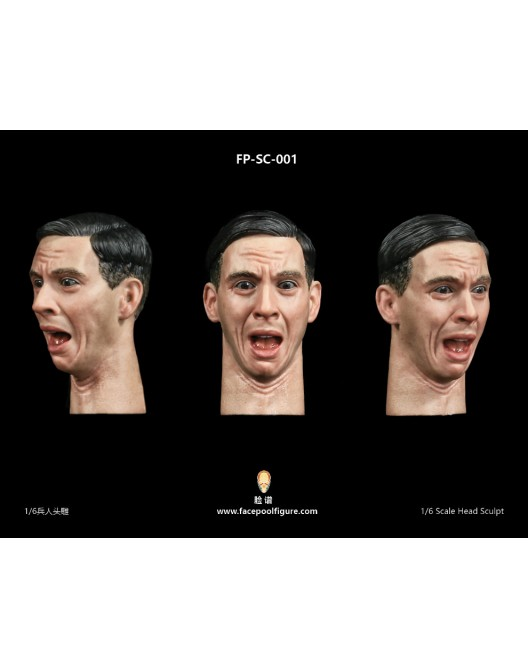 NEW PRODUCT: FacepoolFigure 1/6 Male Head Sculpt - FP-A-005 & FP-SC-001 26132711