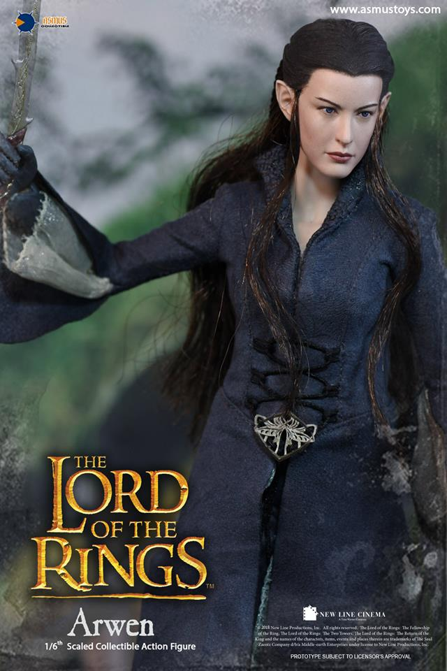 NEW PRODUCT: ASMUS: 1/6 SCALE THE LORD OF THE RINGS SERIES: ARWEN 310