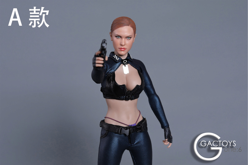 NEW PRODUCT: GACTOYS new product: 1 / 6 European and American cold female killing hand carving [GC022 -A, B, C, D.4] 311